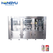 Carbonated Soft Drink Can Filling Sealing Machine